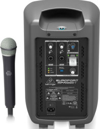 Behringer M with Behringer wireless mic installed